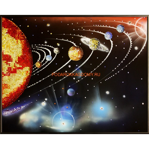 """Картина Сваровски """"Парад планет"""" 02469 фото"""