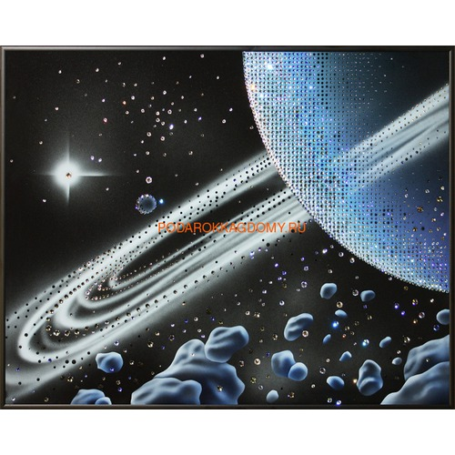 "Картина Сваровски ""Кольца Сатурна"" 02470 фото"