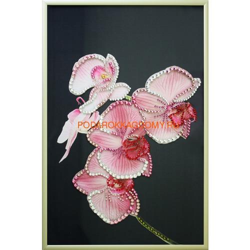 """Картина Сваровски """"Орхидея"""" 02515 фото"""