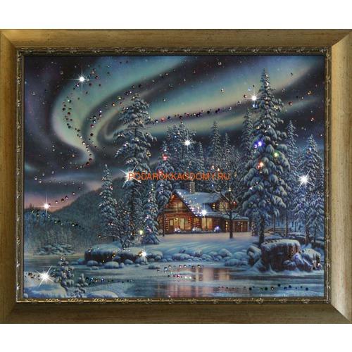 """Картина Сваровски """"Северное сияние"""" 16140 фото"""