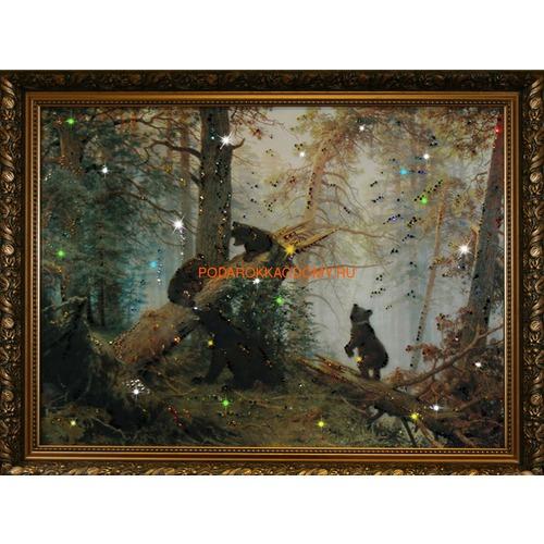 """Картина Сваровски """"Утро в сосновом бору"""" 16144 фото"""