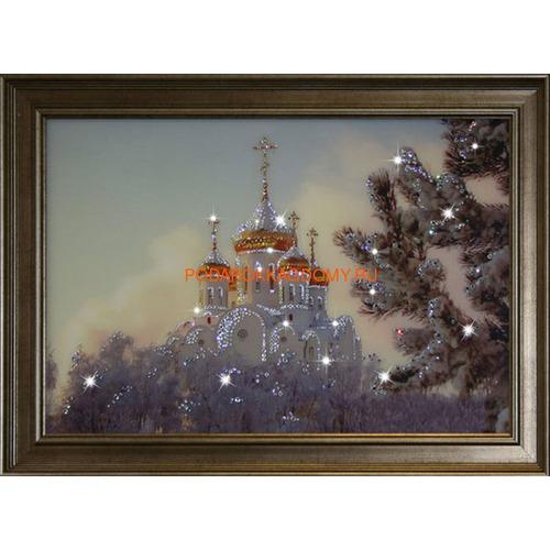 "Картина Сваровски ""Храм"" 16156 фото"