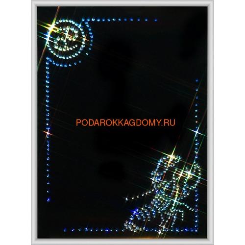 """Фоторамка Сваровски """"Рак"""" 0223 фото"""