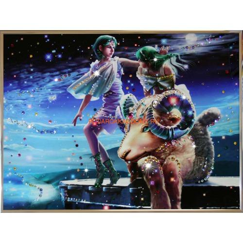 """Картина Сваровски """"Знак зодиака овен"""" 16182 фото"""