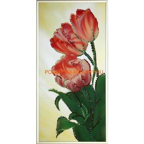 """Картина Сваровски """"Тюльпаны"""" 02684 фото"""
