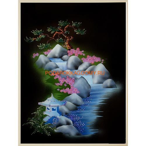 """Картина Сваровски """"Японский сад"""" 02783 фото"""