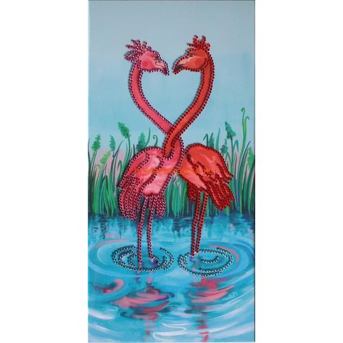 """Картина Сваровски """"Фламинго"""" 0812 фото"""