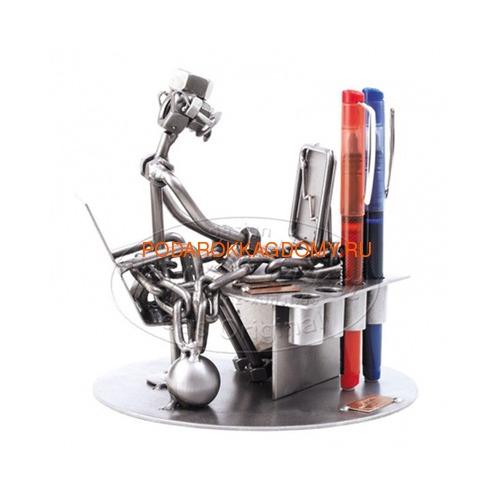 """Подставка для ручек из металла Hinz Kunst """"Трудоголик"""" 0378 фото"""
