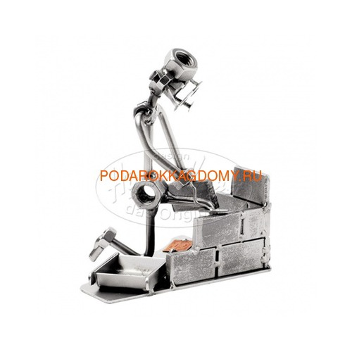 "Фигурка из металла Hinz Kunst ""Каменщик"" 0397 фото"