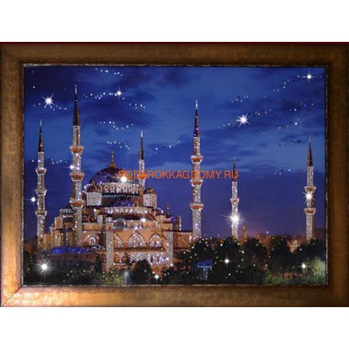 """Восточная картина Сваровски """"Мечеть"""" 16229 фото"""