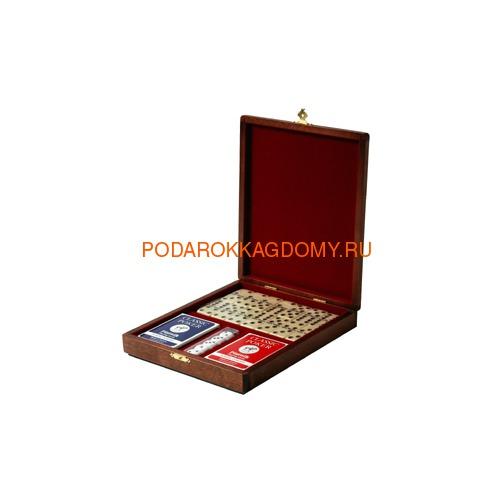 Игровой набор в деревянной шкатулке 07237 фото