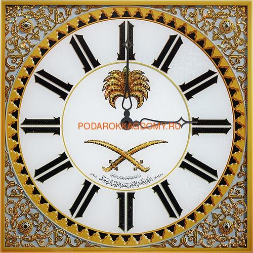 Настенные часы с кристаллами Сваровски 02949 фото