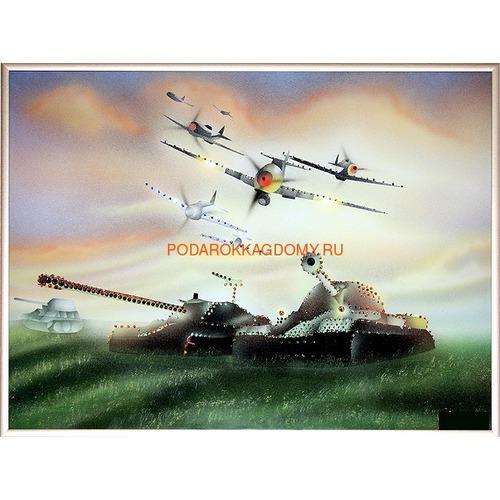 """Картина Сваровски """"На страже Отечества"""" 02228 фото"""