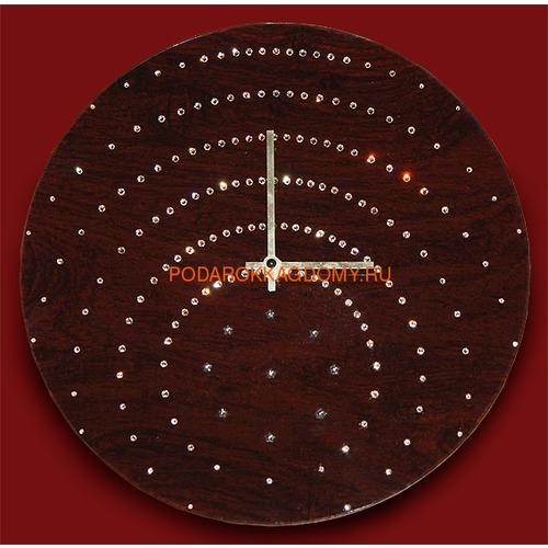 Настенные часы с кристаллами Сваровски 02105 фото