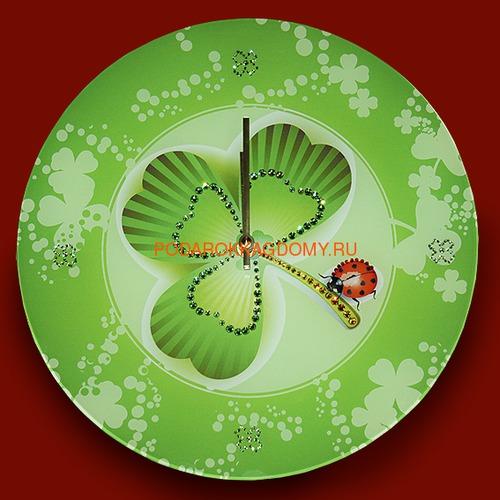 Настенные часы с кристаллами Сваровски 02894 фото