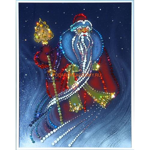 """Картина Сваровски """"Дед Мороз"""" 02296 фото"""