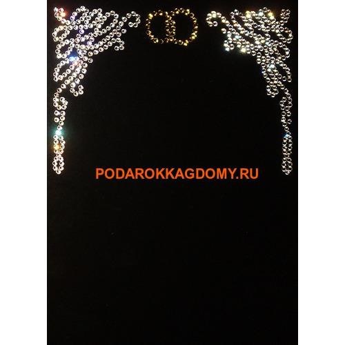 """Фоторамка Сваровски """"Свадебная"""" 77420 фото"""