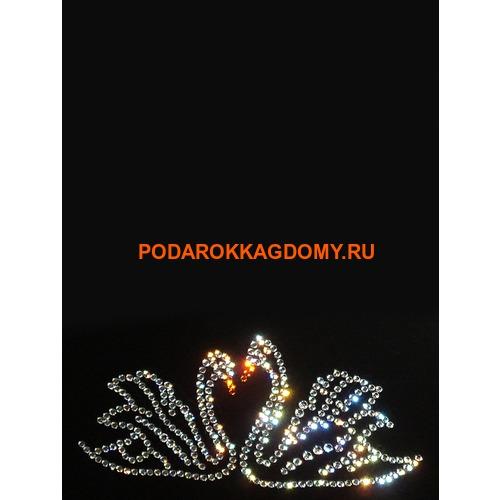 """Фоторамка Сваровски """"Лебеди"""" 77422 фото"""