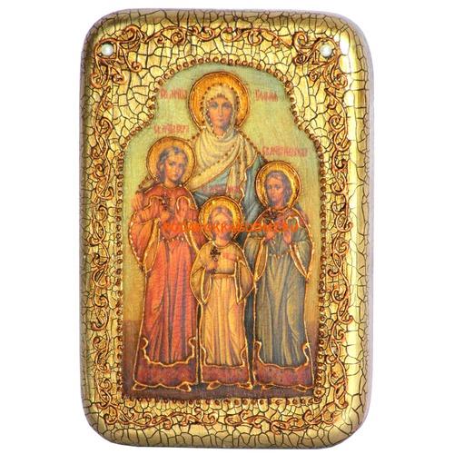 Икона Вера, Надежда, Любовь и мать их София 07491 фото