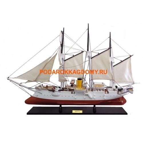 """Модель парусного корабля """"Канонерская лодка Кореец"""" 03835 фото"""