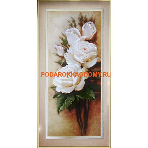 """Картина Сваровски """"Роза"""" 021236 фото"""