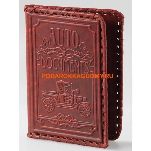 Кожаная обложка для водительского удостоверения 18215 фото