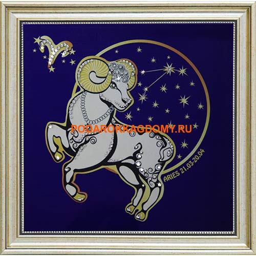 """Картина Сваровски """"Знак зодиака овен"""" 16604 фото"""