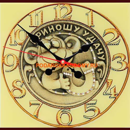 Настенные часы с кристаллами Сваровски 16615 фото