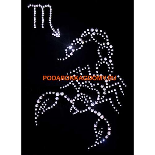 "Картина Сваровски ""Знак зодиака скорпион"" 77606 фото"