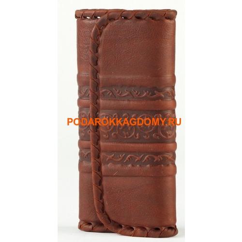 Кожаная карманная ключница 18263 фото