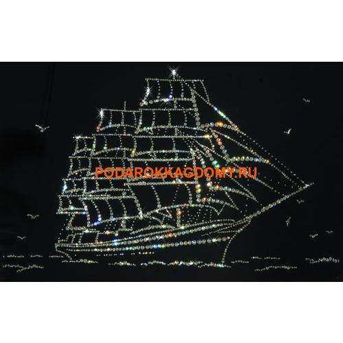 "Картина Сваровски ""Парусник"" 77218 фото"