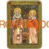 Икона Священномученики Киприан и Иустина Антиохийские 071304 фото