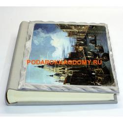 Подарочный кожаный фотоальбом