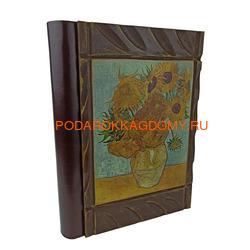 Подарочный кожаный фотоальбом Ван Гог