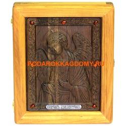 Резная икона Ангел Хранитель