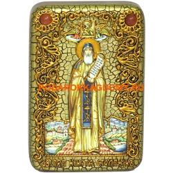 Икона Преподобный Никита Столпник, Переславский чудотворец
