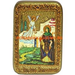 Икона Святая преподобная Ирина Каппадокийская (Хрисоволанта)