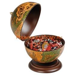 Настольный глобус - конфетница Zoffoli