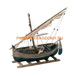 Макет (модель) рыбацкой лодки