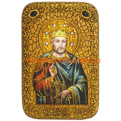 Икона Святой Благоверный князь Вячеслав Чешский