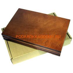 Деревянная шкатулка для документов