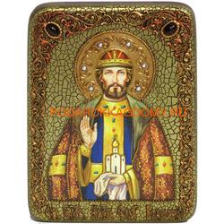 Икона Святой благоверный князь Олег Брянский