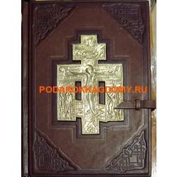 Подарочная Библия в кожаном переплёте