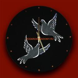 Настенные часы с кристаллами Сваровски