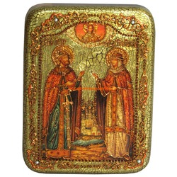 Икона Пётр и Февронья