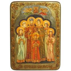 Икона Святые царственные страстотерпцы