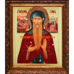 Икона Князь Олег с кристаллами Сваровски