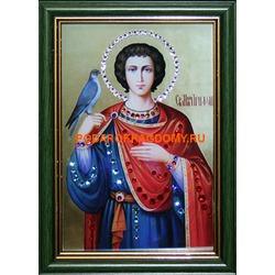 Икона Святой Трифон с кристаллами Сваровски