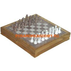Шахматы из камня