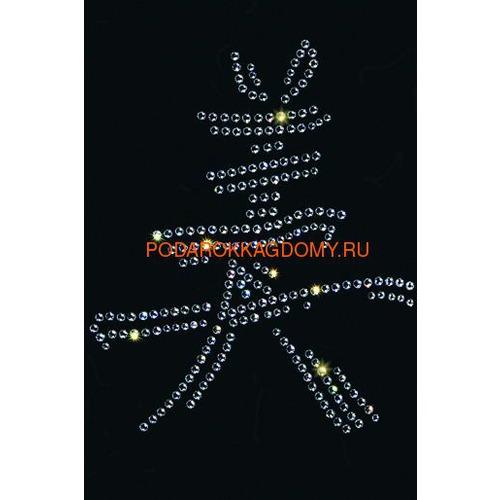 Картина Swarovski китайский иероглиф Красота 7753 фото